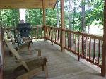 secluded  vacation at Silver Creek Cabins in Southeast Oklahoma